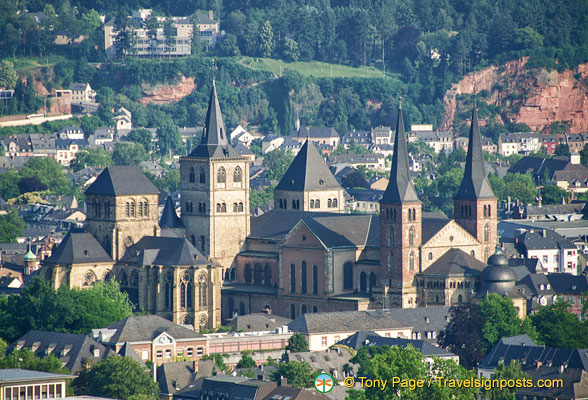 Trier and its many church towers
