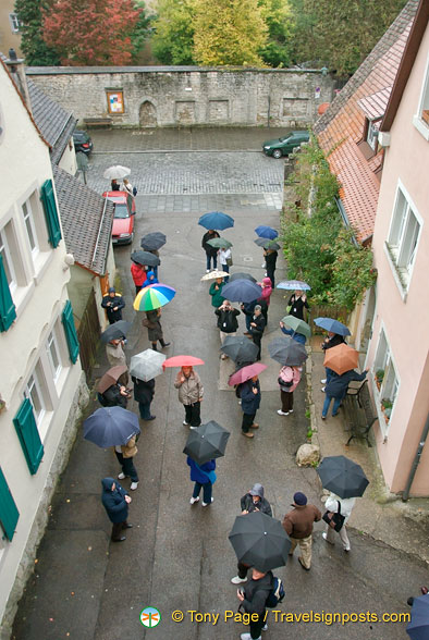 A rainy day in Rothenburg