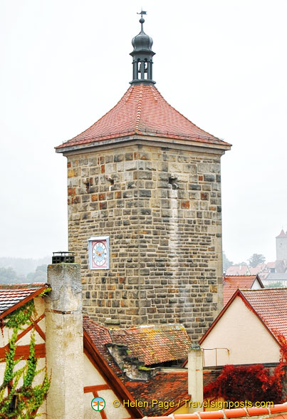 Rothenburg fortress tower