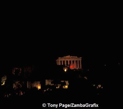 Pathenon by Night