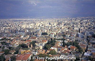 Athens from the Acropolis