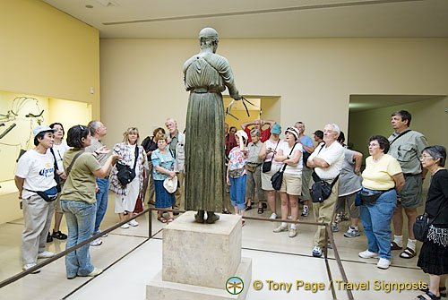 The Museum at Delphi