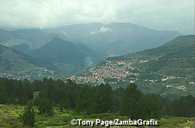 Above the resort town of Metsovo