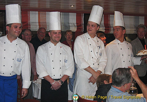 Parade of the chefs