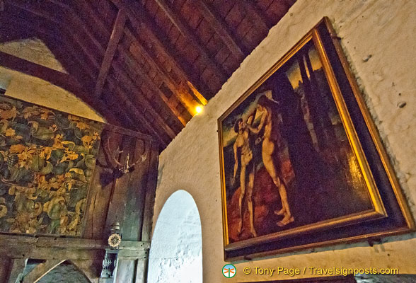 Precious artwork of Bunratty Castle