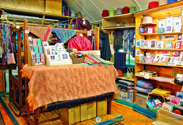 Bunratty Folk Park shop