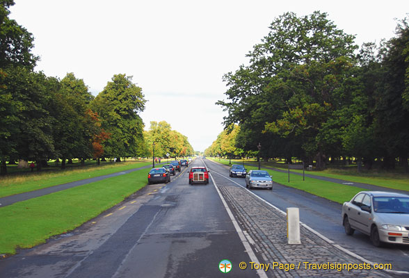 Phoenix Park is one of the largest enclosed city parks in Europe