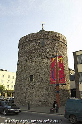 Reginald's Tower on the quayside, Waterford