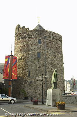 Reginald's Tower is the largest structure in the old defences