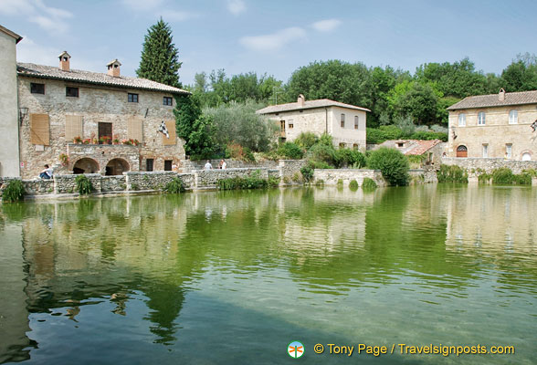 Thermal bath of Bagno Vignoni