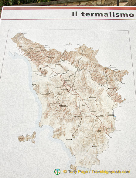 Map of Il Termalismo