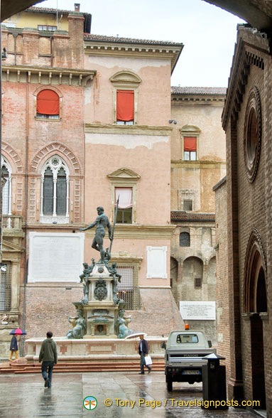 View of Piazza Nettuno