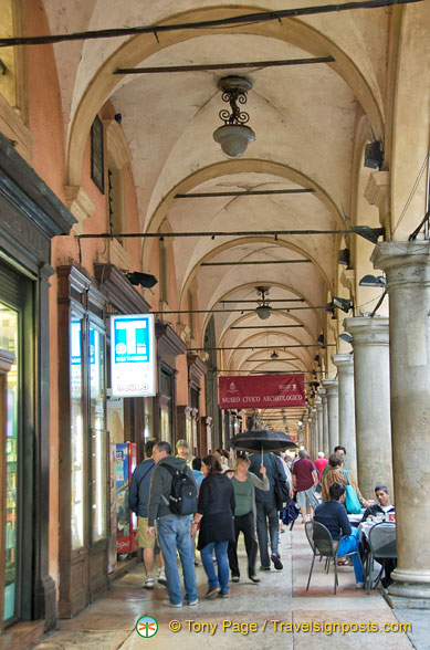 The famous Bologna portico
