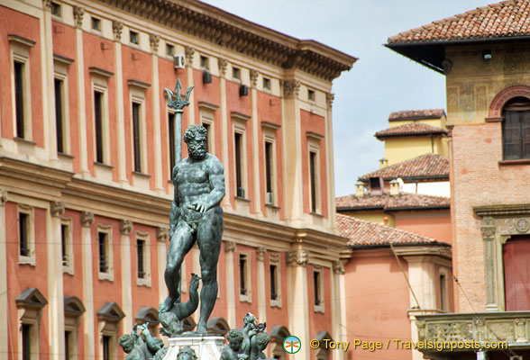 Statue of Neptune in Piazza Nettuno