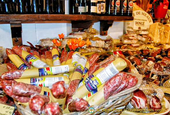 Salamis and other cured meats