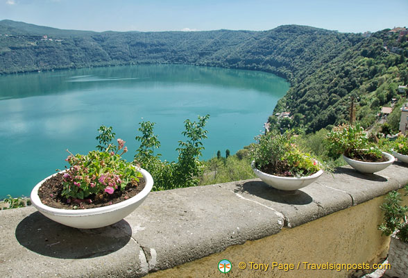 Beautiful Lake Albano