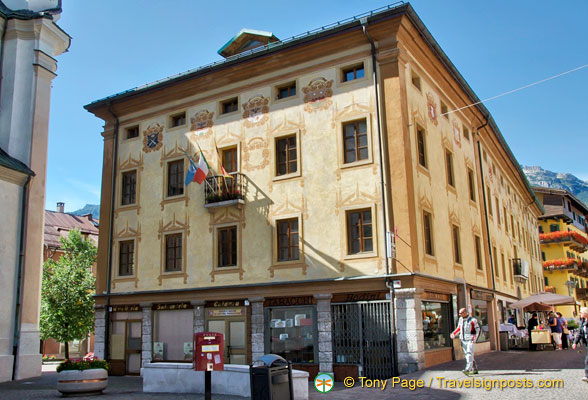 Cortina d'Ampezzo municipal office