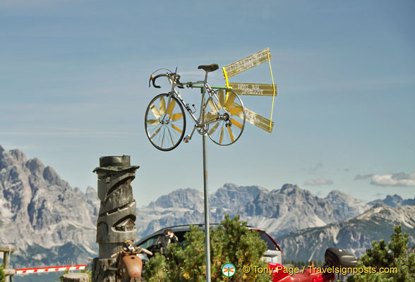 Cycling is the craze in the Dolomites