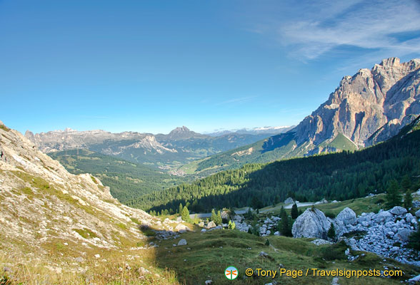 Magnificent Dolomite views