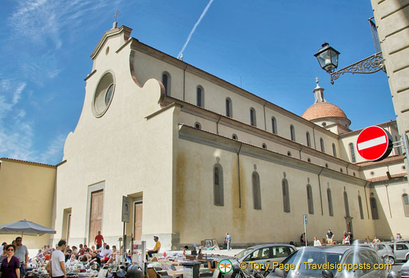 Church of Santo Spirito on Piazza Santo Spirito