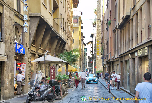 Borgo San Jacopo - Hotel Lungarno is on this street