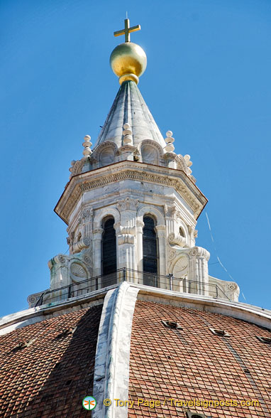 Top of Brunelleschi's Duomo Dome