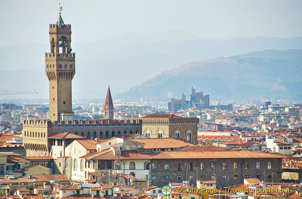 View of Palazzo Vecchio tower