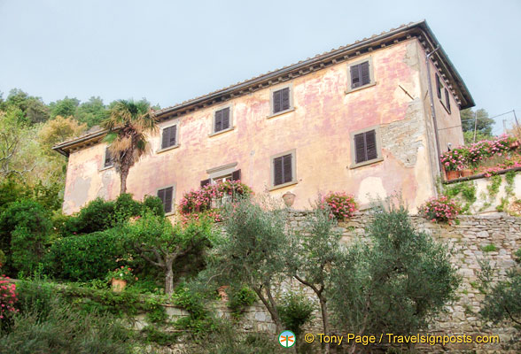 Frances Mayes' lovely House Under the Tuscan Sun
