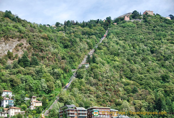 Lake Como cable car