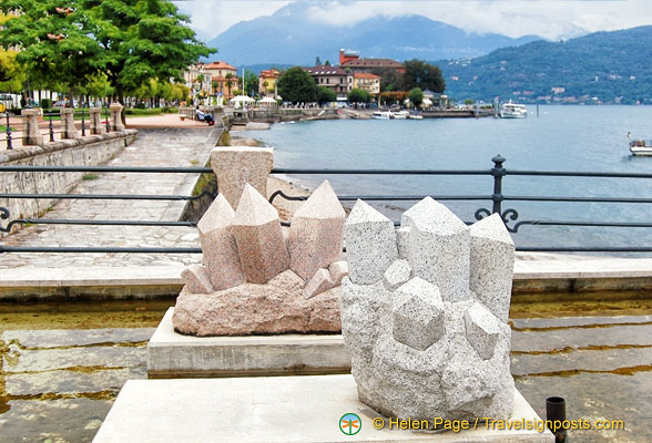 Stresa and Baveno are known for their pink granite
