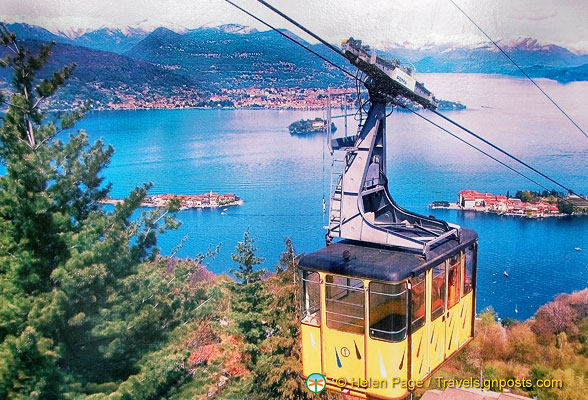 The Stresa-Mottarone cable car