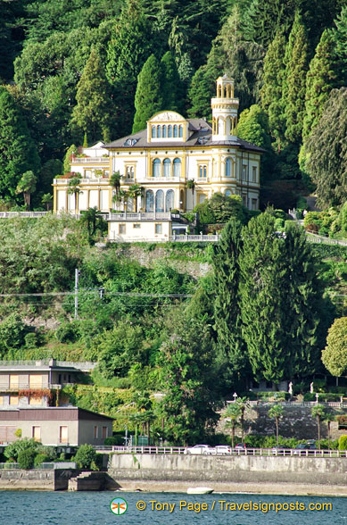Mansions on Lake Maggiore