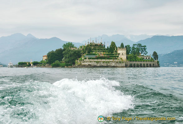 Leaving Isola Bella
