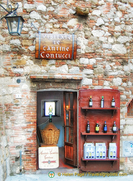 Winetasting at Cantina Contucci