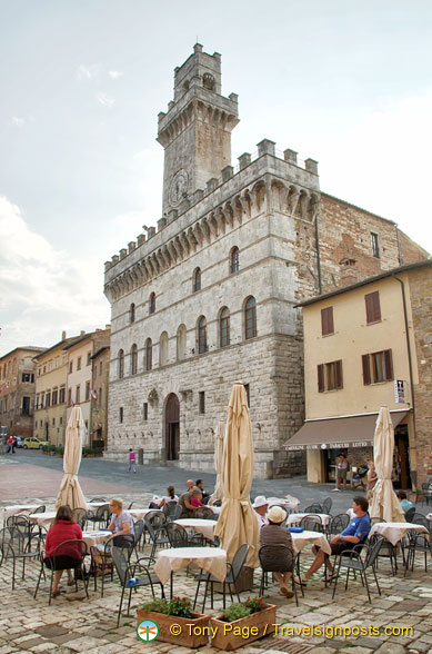 Palazzo Comunale - Montepulciano Town Hall