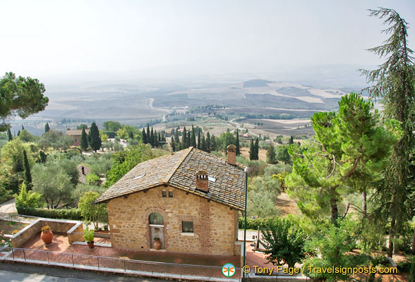View of Val d'Orcia