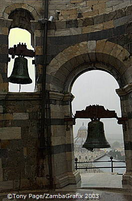 Bells of the Leaning Tower of Pisa