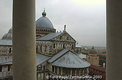 Beautiful roof views of the Duomo