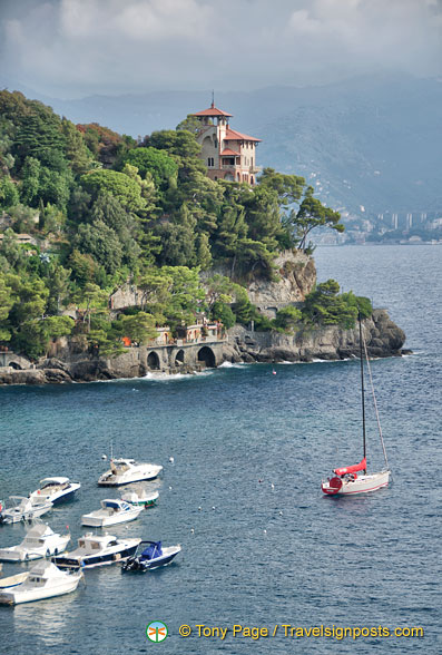 View of Portofino harbour