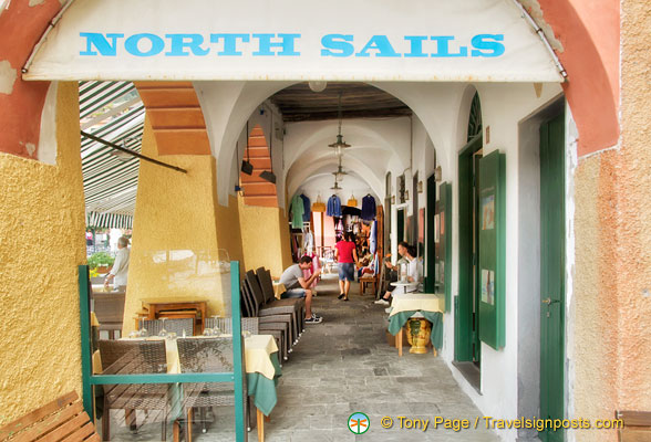 North Sails, a clothing store on Piazza Martiri dell'Olivetta