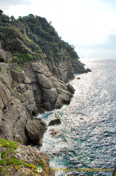 Coastline near Portofino