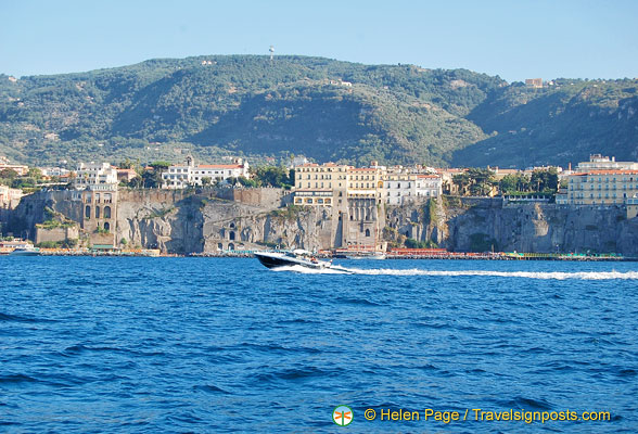 Approaching Sorrento