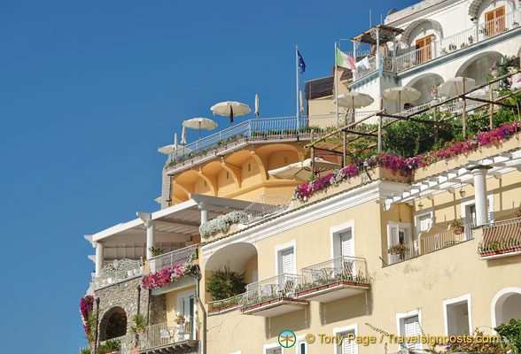 Nice apartments to have in Positano