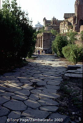 Via Sacra, The Forum, Rome [Rome - Italy]