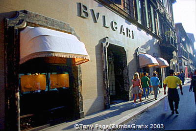 Bulgari on Via Condotti