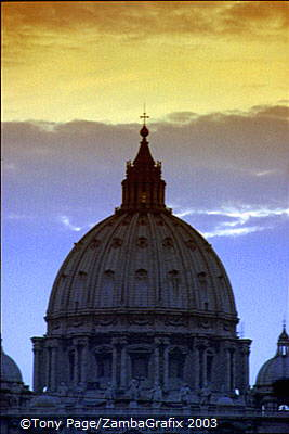 St Peter's Basilica and Vatican
