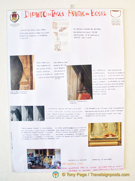 About restoration of artwork at the Musei Civici