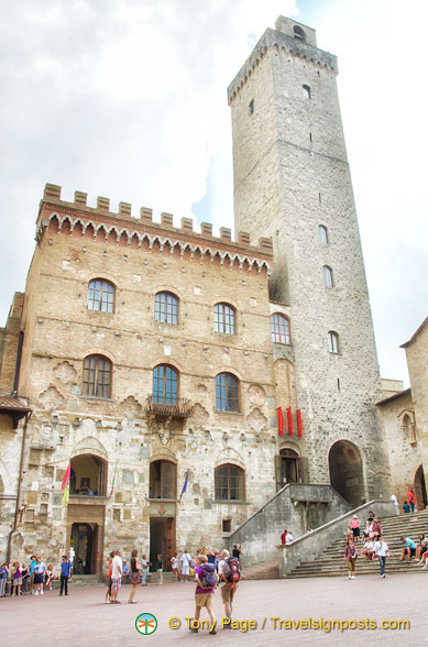 Palazzo Comunale and the Torre Grossa