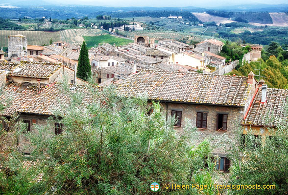 San Gimignano countryside