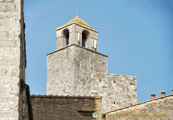 Top of a San Gimignano tower